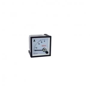 Amperímetro analógico 72x72mm medição direta 30A Sibratec